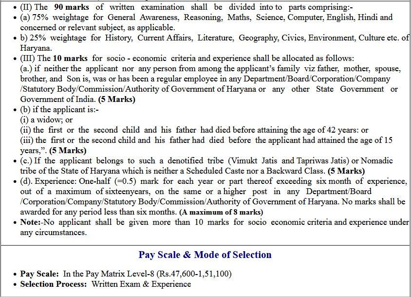 Haryana HSSC PGT Teacher Online Form 2019