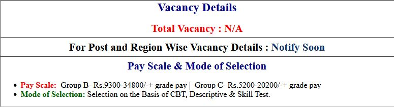 SSC Various Post Phase VII Online Form 2019