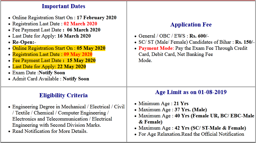 BPSC Project Manager Online Form 2020 (Re-Open)