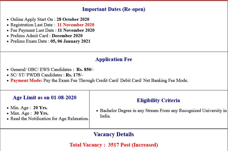IBPS CRP PO/ MT X Pre Admit Card 2020