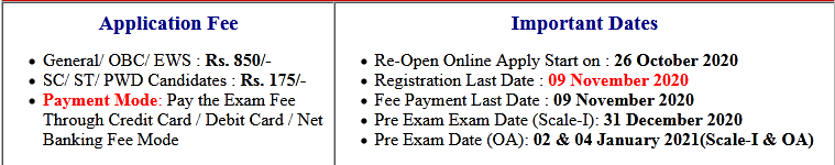 IBPS RRB IX Scale-I & Office Assistant Online Form 2020 (Re-Open)