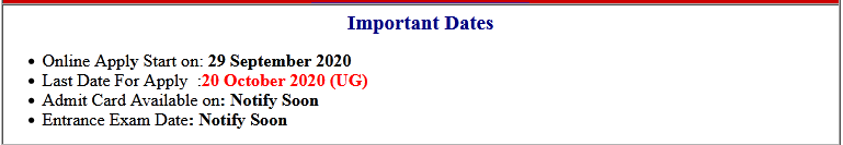 BRABU UG TDC Part-III Examination Online Form 2020