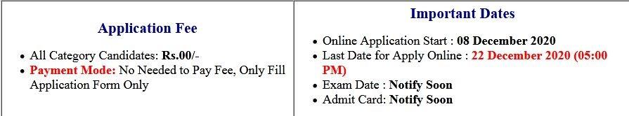 RCFL Various Trade Apprentice Online Form 2020