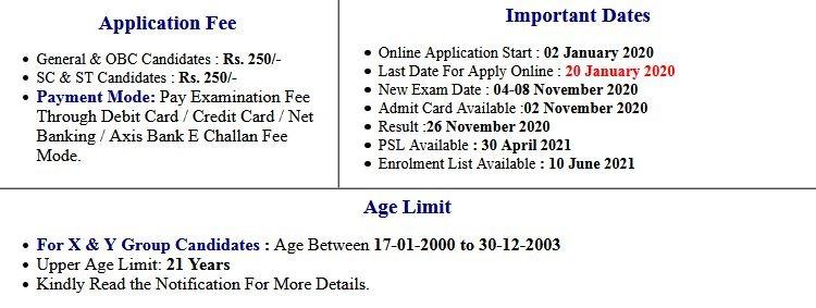 Indian Air Force X,Y Group 01/2021 Batch Enrolment List 2021