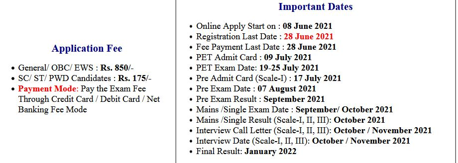 IBPS RRB X Scale-I and Office Assistant Pre Exam Admit Card 2021