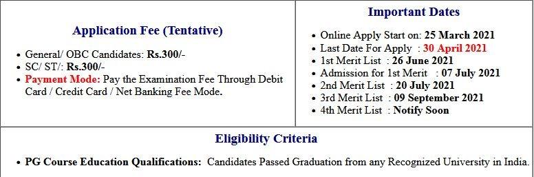 BRABU PG Admission 3rd Merit List 2020-22