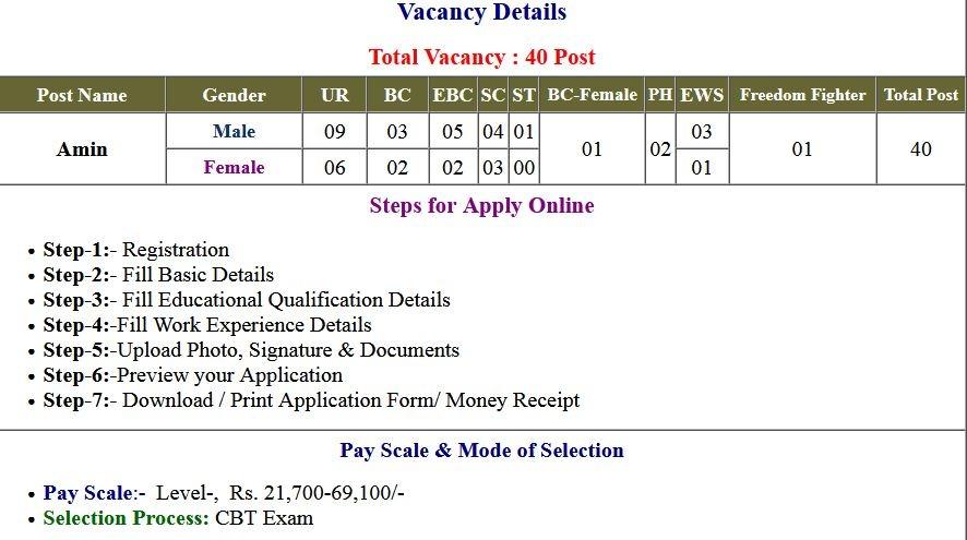 Answer Key BCECEB Bihar Amin 2021