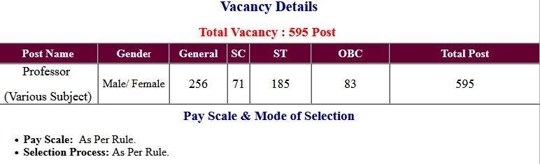 CGPSC Chhattisgarh Professor Application Form 2021