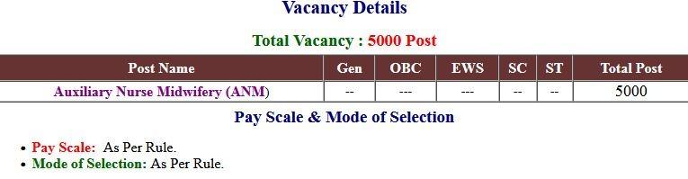 UP NHM ANM Vacancies Application Form 2021